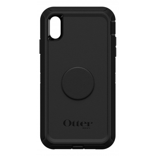 "OtterBox Otter + Pop iPhone Xs Max 6.5"" Defender, Black"