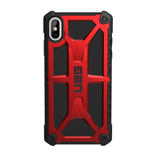 "UAG iPhone Xs Max 6.5"" Monarch Case, Crimson"