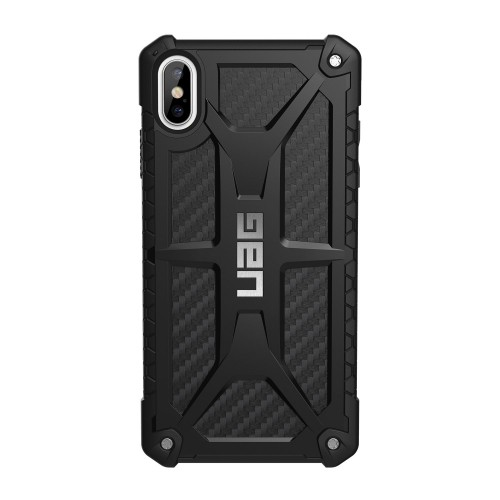 "UAG iPhone Xs Max 6.5"" Monarch Case, Carbon Fiber"