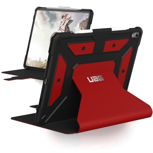 "UAG iPad Pro 12.9"" (2018) Metropolis Case (V3), Magma (Red)"