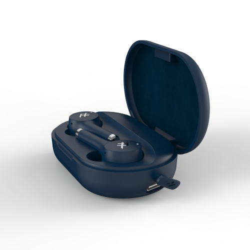 iFrogz Audio Airtime Pro True Wireless Stereo Earbuds, Blue